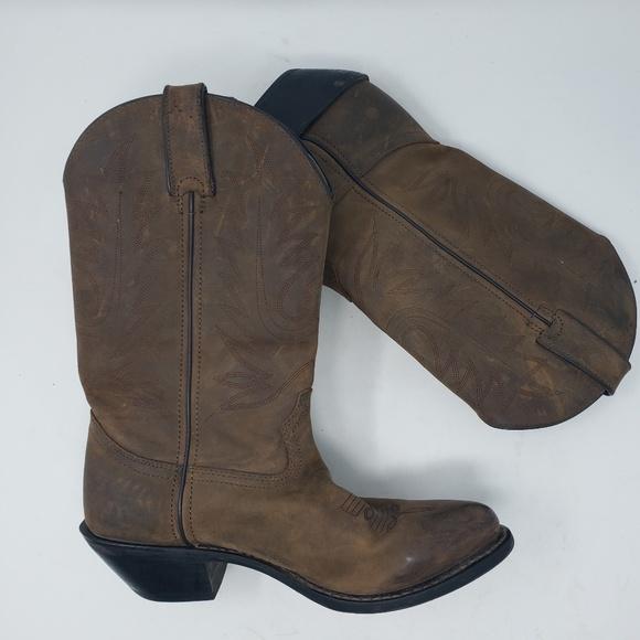 8d625b1a208 Women's Durango brown western boots size 7.5